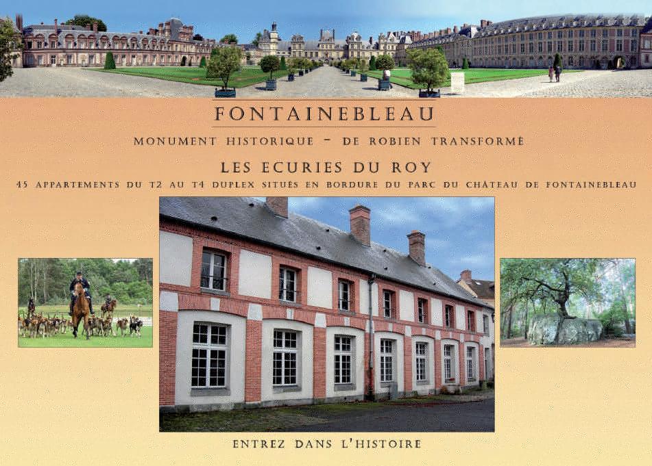 Defiscalisation Malraux / Monument Historique a FONTAINEBLEAU : Les Ecuries du Roy