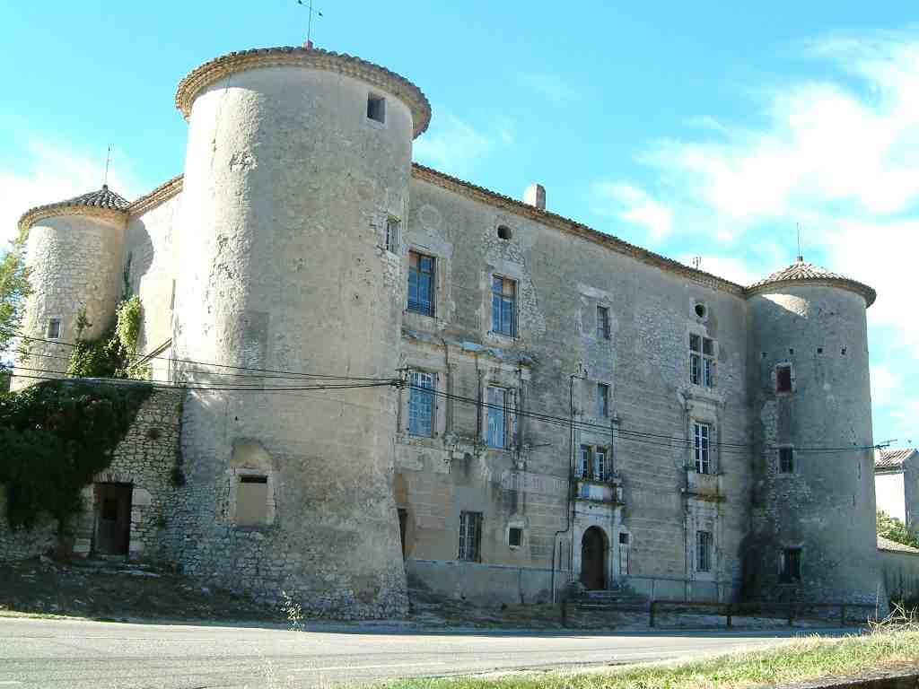 Defiscalisation Malraux / Monument Historique a LUSSAN : Le Château de Fan