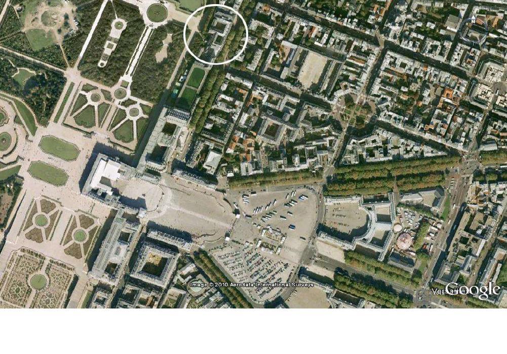 Defiscalisation Malraux / Monument Historique a VERSAILLES : Rue des réservoirs / rue Chancellerie