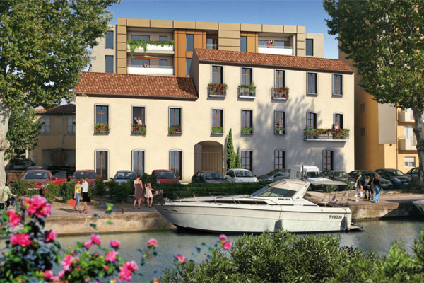 Defiscalisation Scellier a NARBONNE : Amarrage